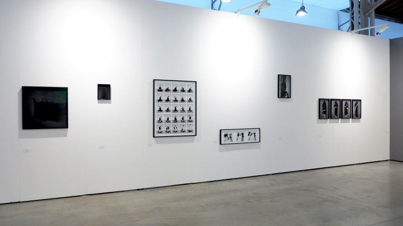 Installation View of Hilla Kurkiat Vienna Contemporary 2017