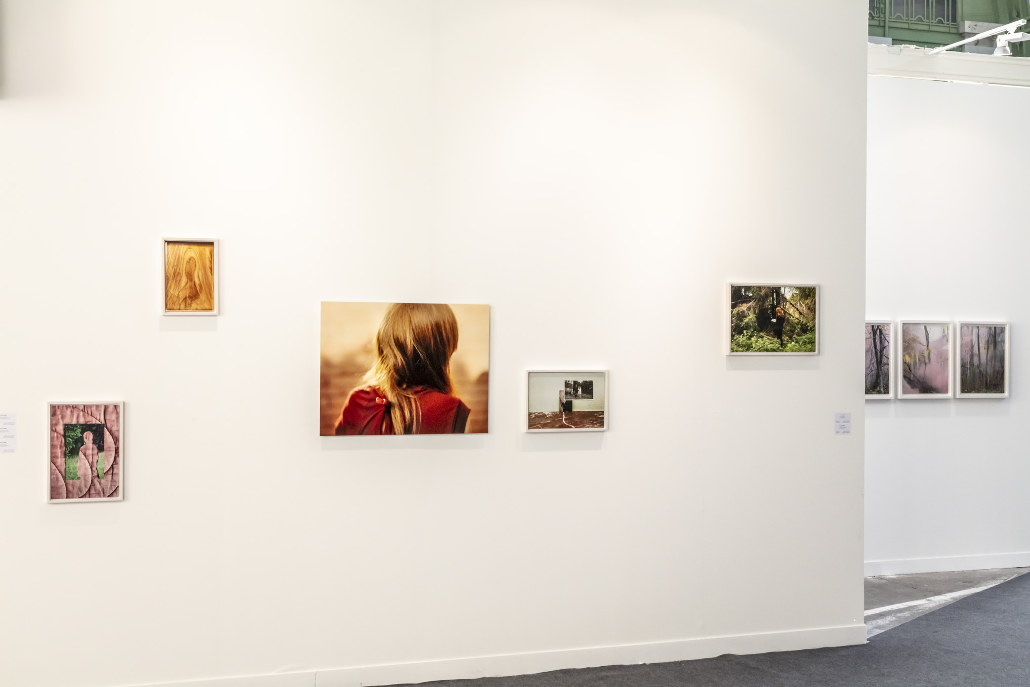 Exhibition View of Anni Leppälä at Paris Photo, Paris 2019