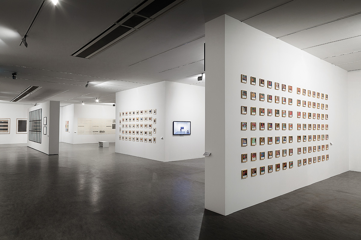 "Exhibition view, ""Sensations Of Reality And Conceptual Practices 1965-1980"""