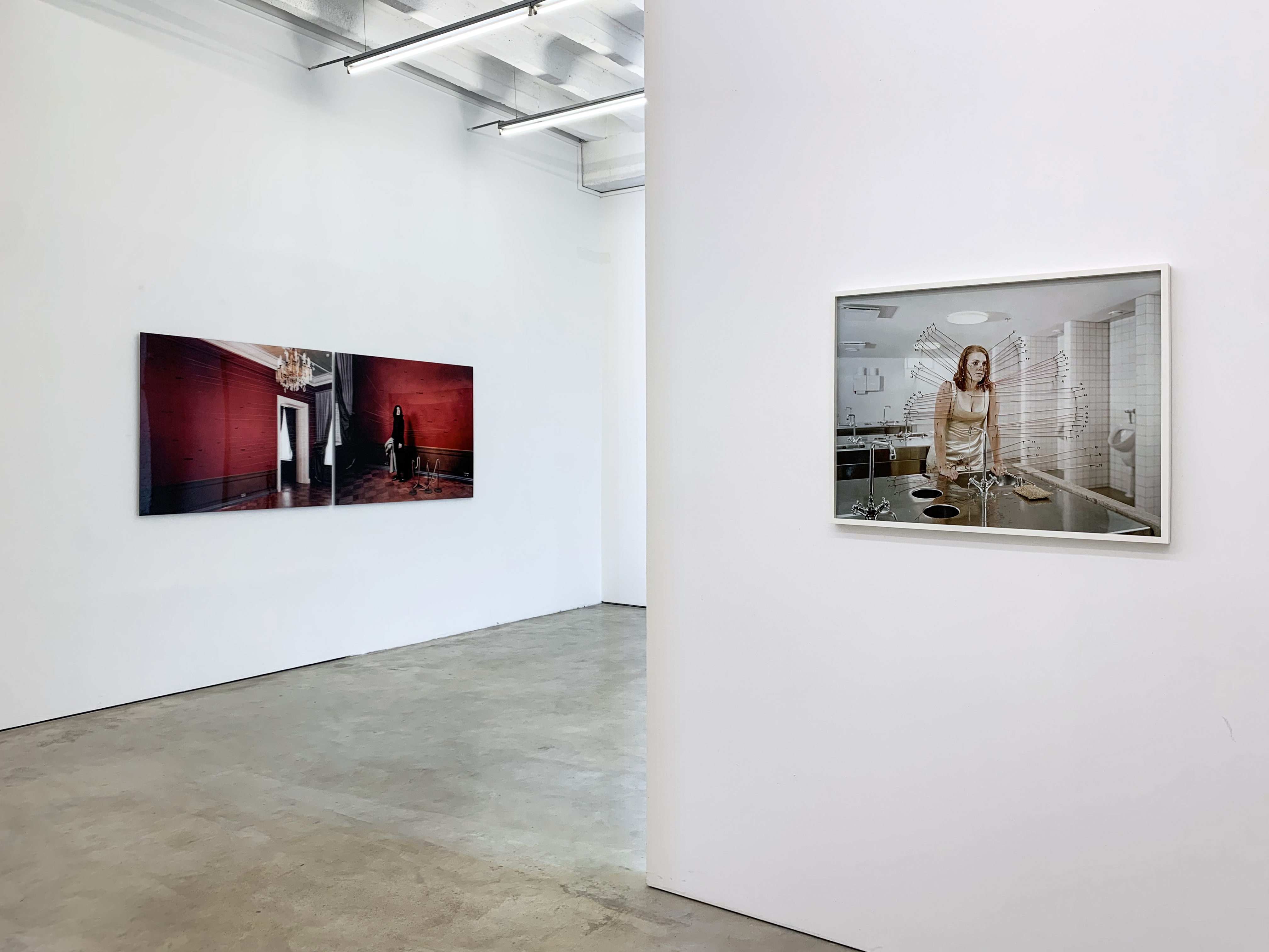 Installation View Jyrki Parantainen at Persons Projects, Berlin 2020